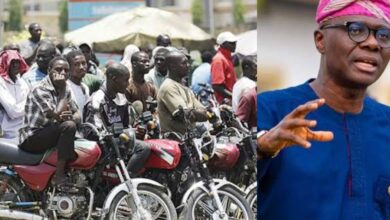 Photo of Okada Riders now plying major roads in Lagos