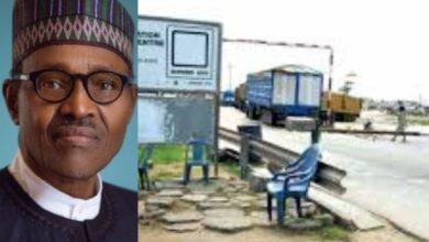 Photo of Buhari Set To Open Land Borders