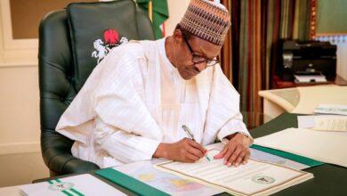 Photo of Buhari Signs Penalties for COVID-19 Guideline Violators