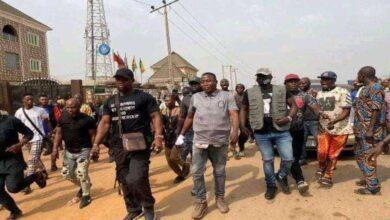 Photo of I Came Prepared Sunday Igboho Says As He stomps Ogun State For Herdsmen