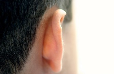 Back of your ear