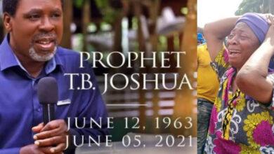 Photo of Breaking!! Prophet TB Joshua Confirmed Dead