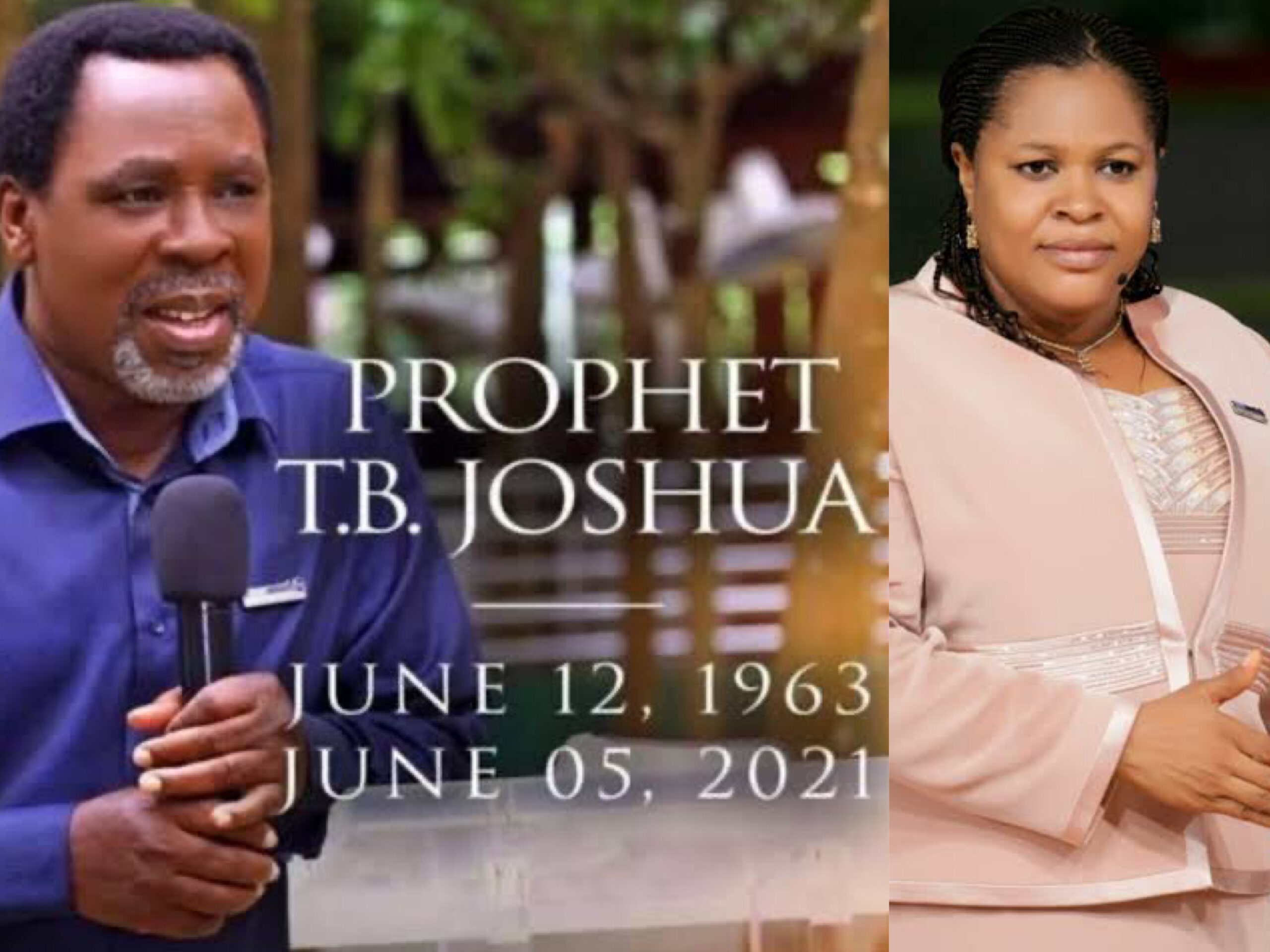 Evelyn, TB Joshua's Wife Narrates How He Died