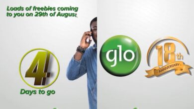 Photo of Glo Offers N200 Airtime For 18th Year Anniversary