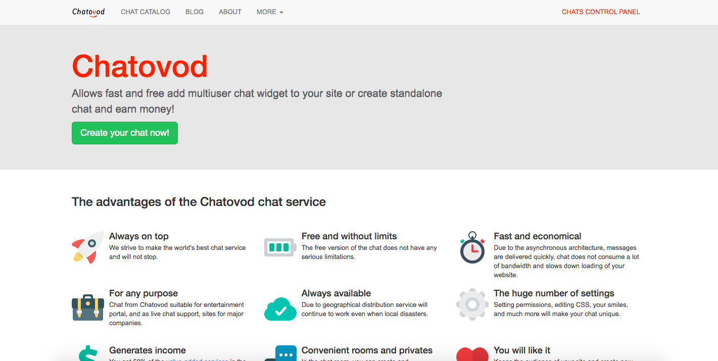 how to delete Chatovod account