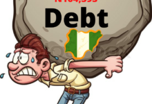 Photo of Nigerians Now Owe N164,393 Each As Buhari Borrows Fresh $4billion Loan